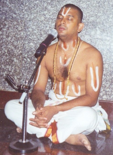 our acharyan in a satsang